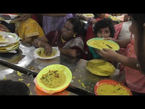 World Biggest Bhog (Food) Distribution | I can challenge You Never Seen This Type of Craziness