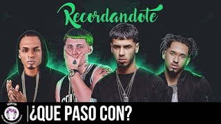 ¿Que Paso con? Recordándote/Oscuridad  - Anuel AA, Anonimus, Lary Over & Bryant Myers