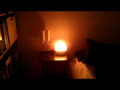 Test af Philips Wake-Up Light HF3520