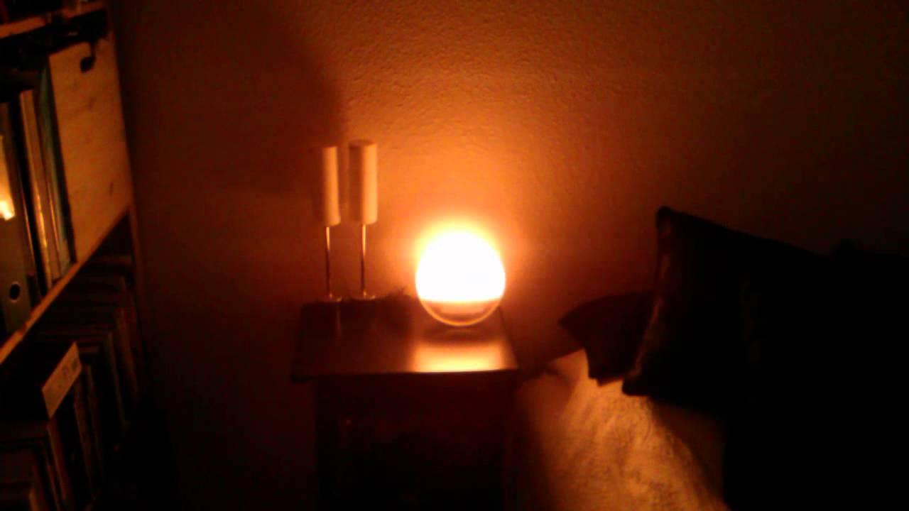 test af philips wake up light hf3520 youtube. Black Bedroom Furniture Sets. Home Design Ideas