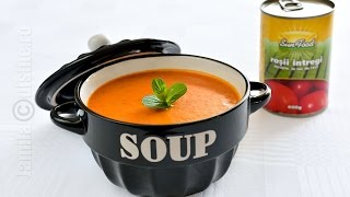 Supa de rosii cu orez | JamilaCuisine