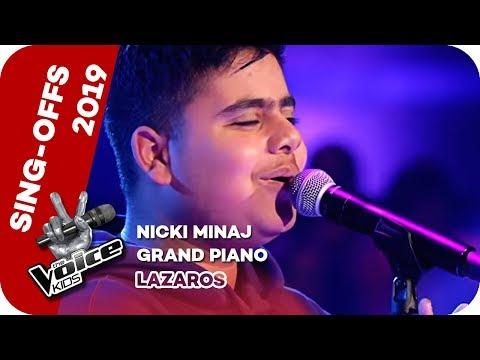 nicki-minaj---grand-piano-(lazaros)-|-sing-offs-|-the-voice-kids-2019-|-sat.1
