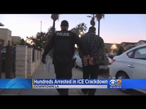 ICE Arrests Hundreds Of Undocumented Criminals In LA-Area Sweep