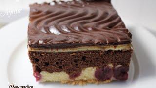 Donauwellen Rezept# meine Torten und Kuchenwelt