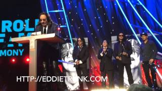 kiss induction at the rock and roll hall of fame