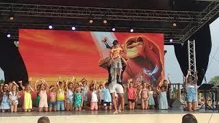 Spectacle enfants Le Roi Lion été 2019
