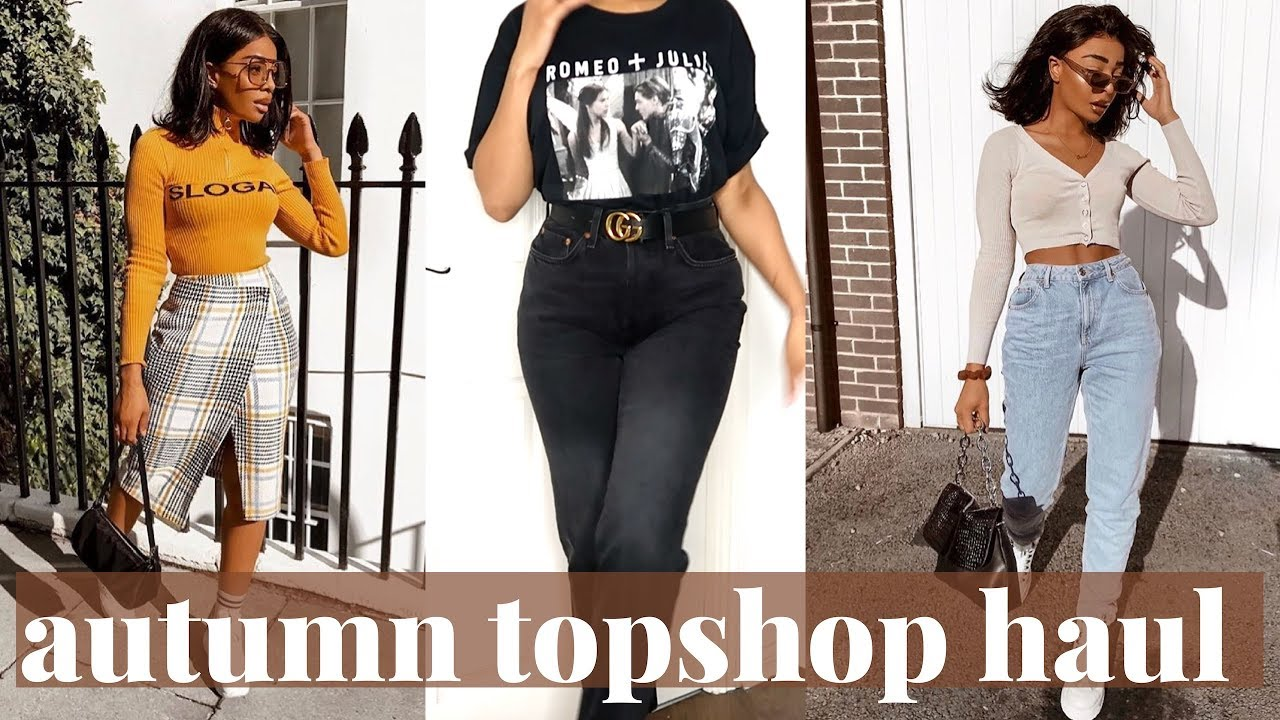 Autumn Topshop Clothing Haul And Try On Sarahjoholder