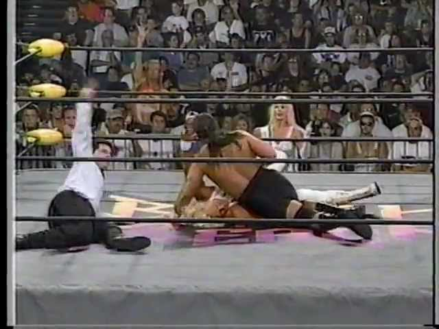Steve 'Mongo' McMichael vs. Jeff Jarrett 07/13/97 - YouTube