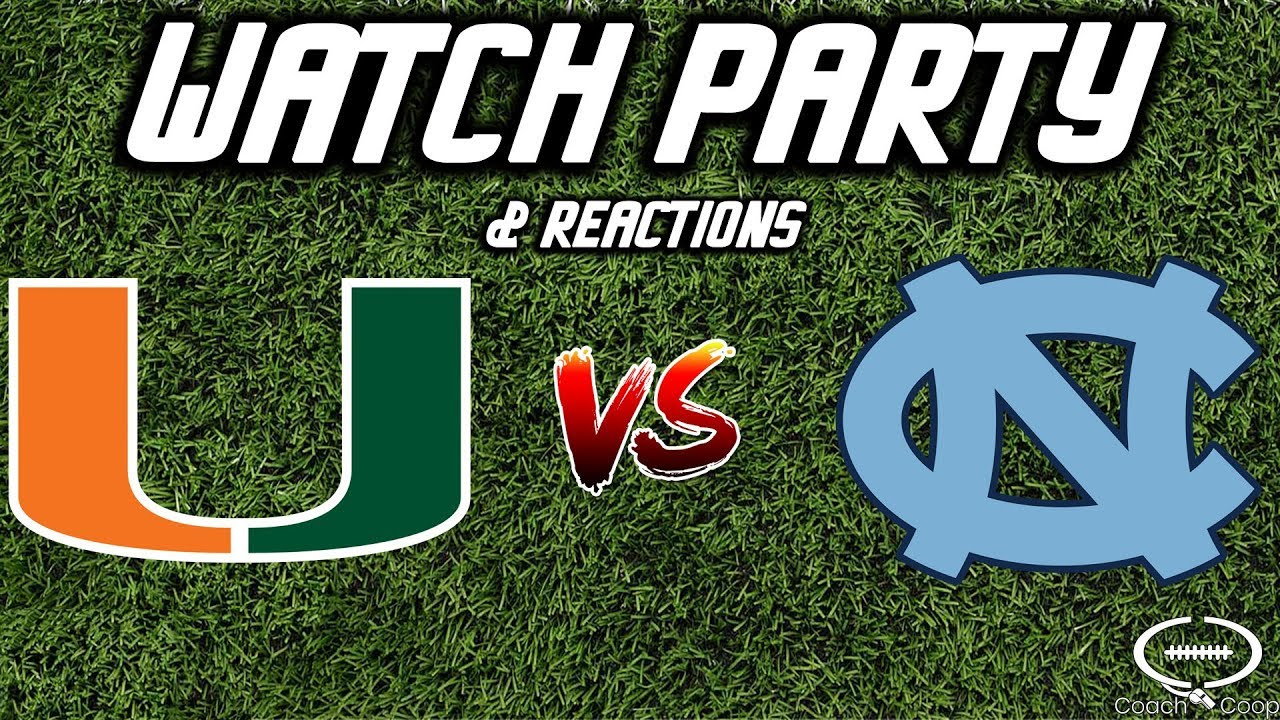 Miami Hurricanes at North Carolina: Where to watch and game info