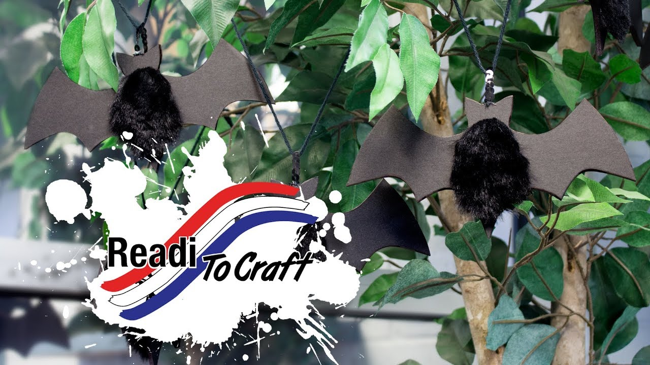 Readi to Craft: Bat Garland