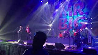 Mr. Big Live in Manila 2017 October 12, 2017 The Kia Theatre.