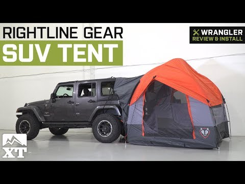 f0653a813bf Jeep Wrangler Rightline Gear SUV Tent (1987-2018 YJ, TJ, JK & JL) Review &  Install - YouTube