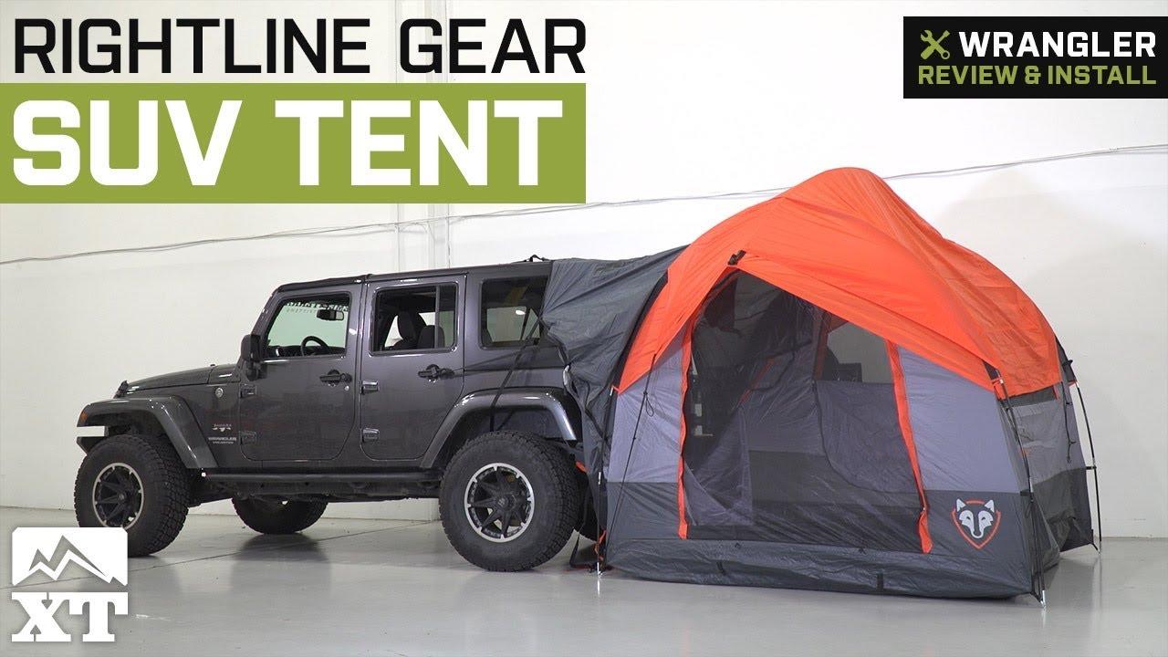 Jeep Wrangler Rightline Gear Suv Tent 1987 2018 Yj Tj Jk Jl