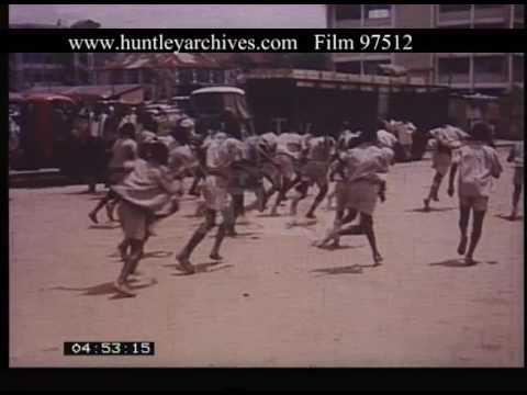 Life In Lagos Nigeria, 1960s - Film 97512