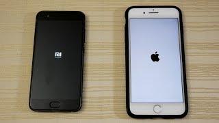 Xiaomi Mi6 vs iPhone 7 Plus - Speed Test! (4K)