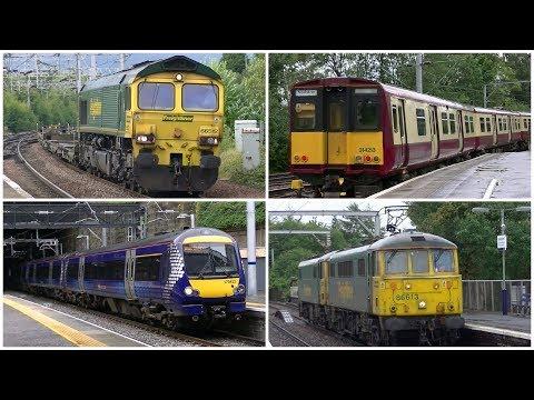 Railway Variety around Glasgow - 16th August 2017