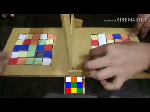 How to make RUBIK RACE out of cardboard