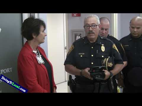 St. Vincent's Hospital Opens Bridgeport Police Post In ER And Donates Life Saving Kits