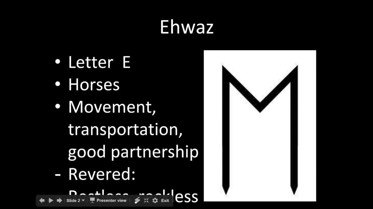 Bilderesultat for ehwaz