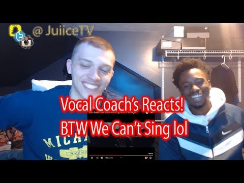 vocal coachs react to Sam Smith, Normani - Dancing With A Stranger (REACTION)