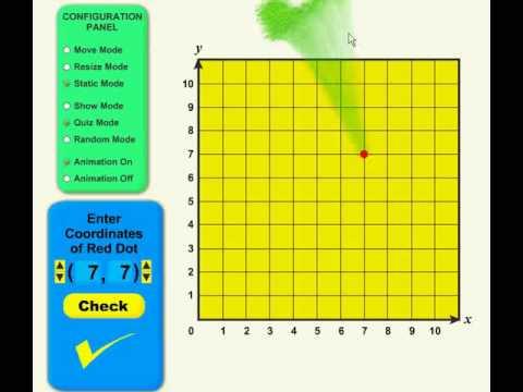 Coordinate Grid Application