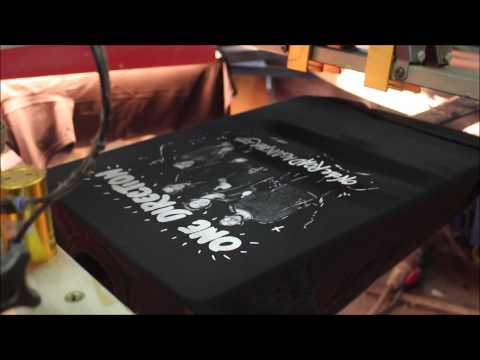 Behind The Print  - Printing One Direction T-Shirts