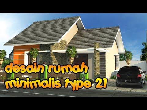 desain rumah minimalis type 21 (1 lantai & 2 lantai ...
