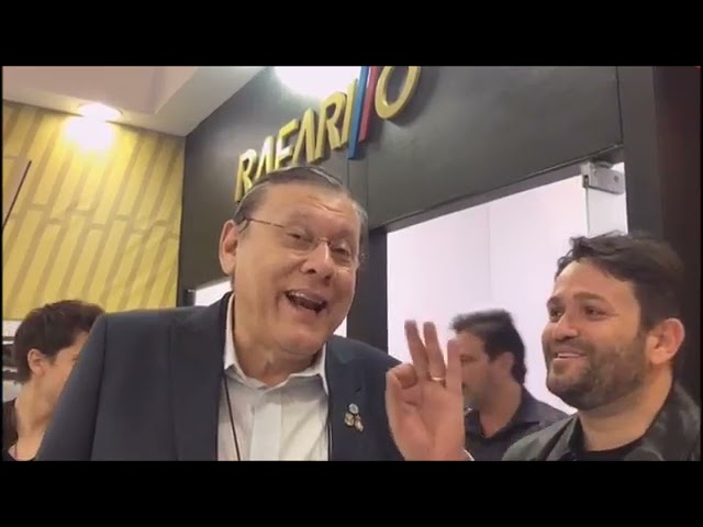 Arquivo Alto Sertão: Empresário sertanejo, João Paulo ao lado de Milton Neves