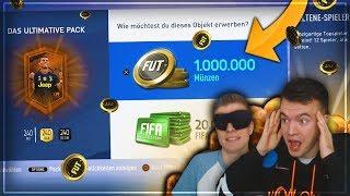 FIFA 19: OMG ZWEI 1.000.000 COINS PACKS!! 🔥 Heftiger Walkout!! 😱