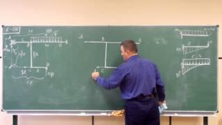 Сопротивление материалов. K-04 (многосвязная плоская рама, статически определимая).