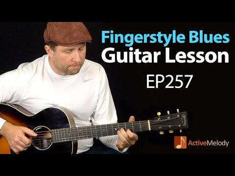 Learn a classic fingerstyle blues composition on guitar  Fingerstyle blues guitar lesson  EP257