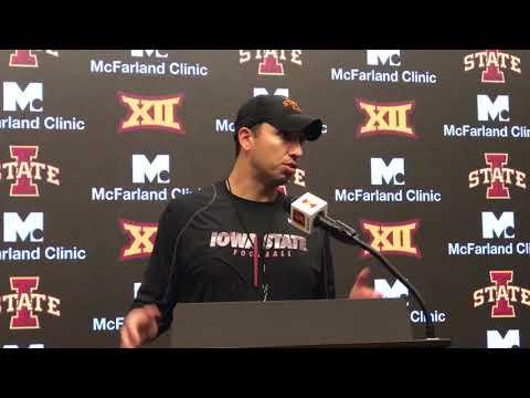 CFTV: Matt Campbell following Iowa State