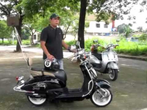 Honda Joker With Manila Retro Scoot Youtube