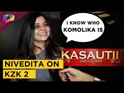 Nivedita Basu Says I Know Who Komolika Is | Excited For Kasauti Zindagi Kay 2 | Exclusive