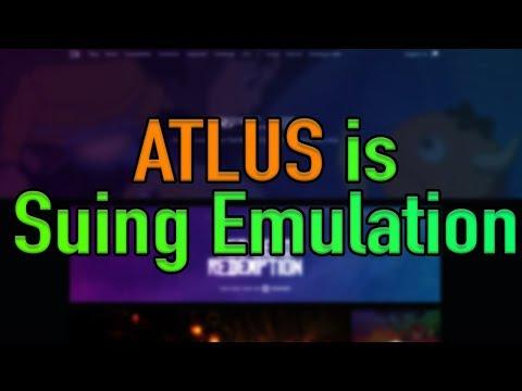 Atlus is Suing Emulation!