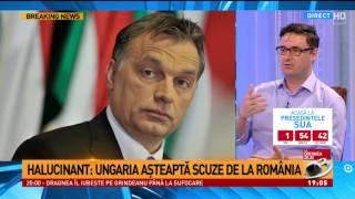 Halucinant, Ungaria aşteaptă scuze de la România