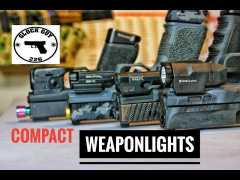 COMPACT WEAPON LIGHTS🔦WHICH IS BEST FOR YOU?