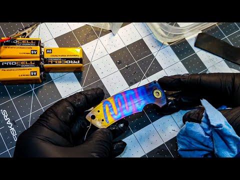 Anodizing Titanium - Snake Or Line Anodizing DIY (2020)