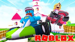 RACE TILL THE DEATH WITH LITTLE KELLY !!! Sharky Gaming   Roblox