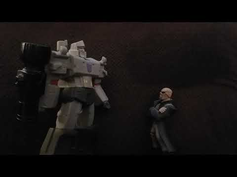 CLIP - Megatron and Nick Fury - The JawsTheSharkReviews Skit Crossover Movie