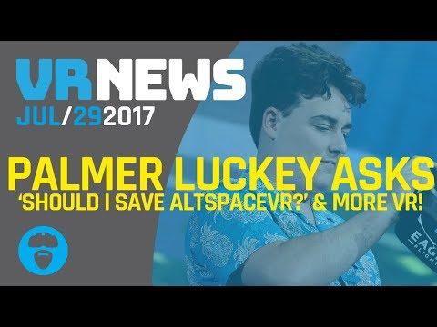 PALMER LUCKEY ASKS