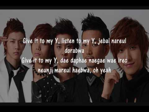MBLAQ - Y MP3 (romanization & translation)