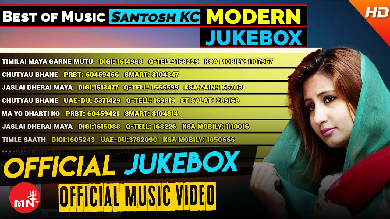 Superhit Nepali Adhunik Songs AUDIO JUKE BOX | Best Nepali Songs by Santosh KC || SS Digital