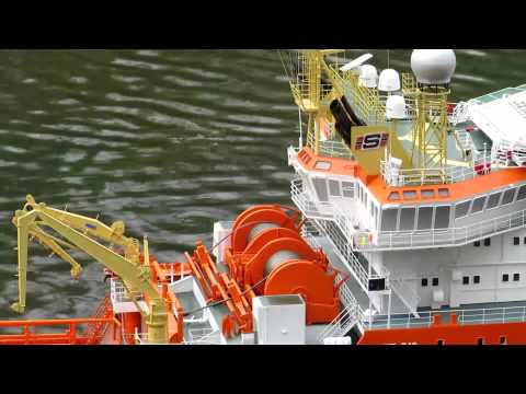 Offshore-Modell NORMAND PROGRESS 1:75
