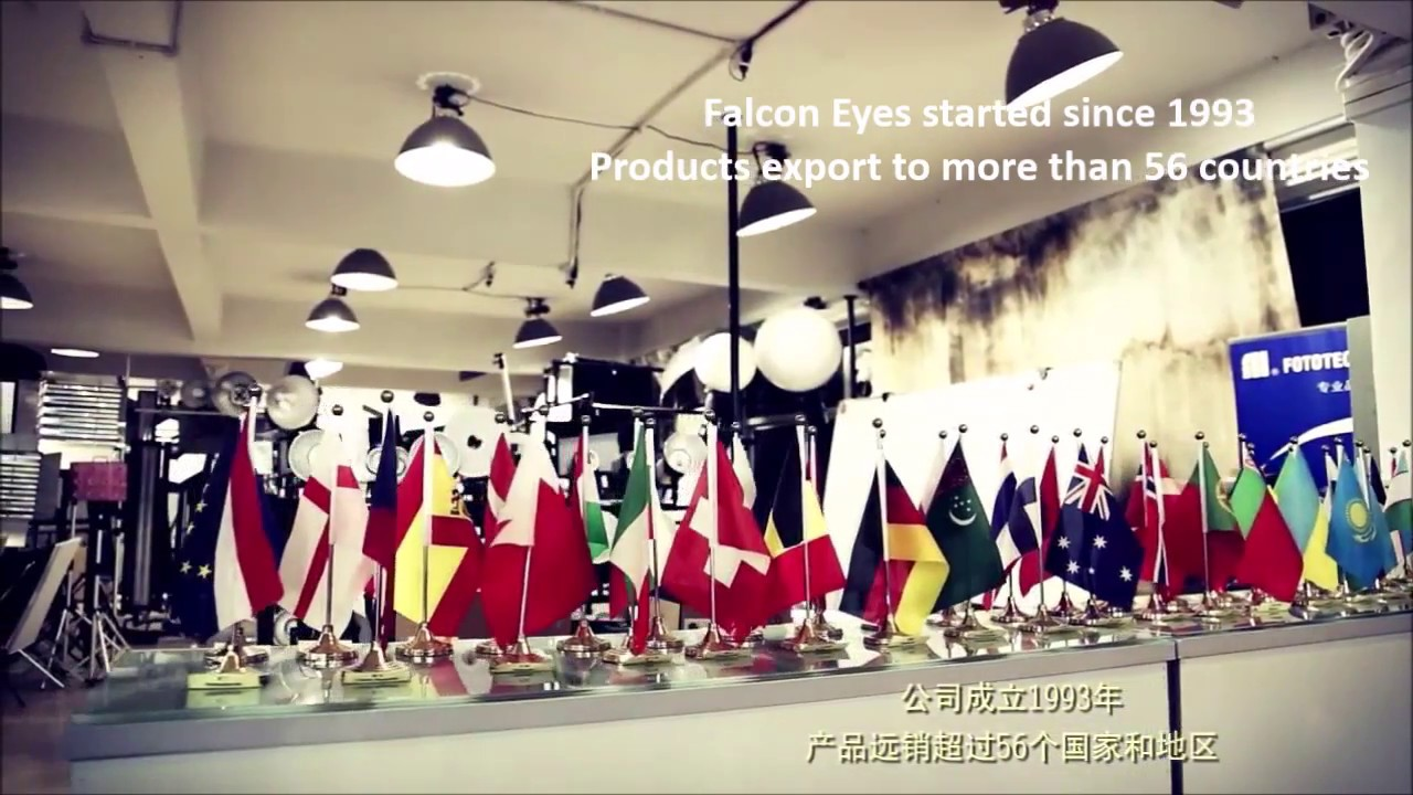 Falcon Eyes Production Factory