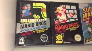 Retro Game Room Tour & Gaming Set Up 2016 - Nintendo SEGA Arcades - Video Games Collection