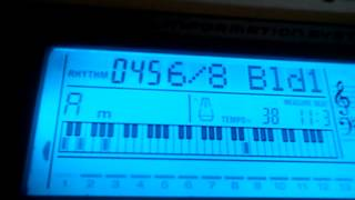 Видео урок   Домбайский вальс (синтезатор)