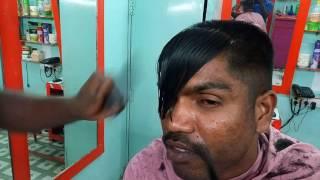 Men's short Hair Cut in Salon ASMR.