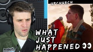 Rapper Reacts to Upchurch ft. Tom MacDonald & Struggle Jennings!! | TRAVELERS (REACTION WEEK PART 1)