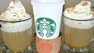 How to Make Starbucks Pumpkin Spice Latte! DIY Recipe!